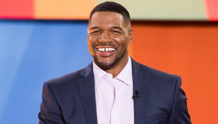The image of Michael Strahan