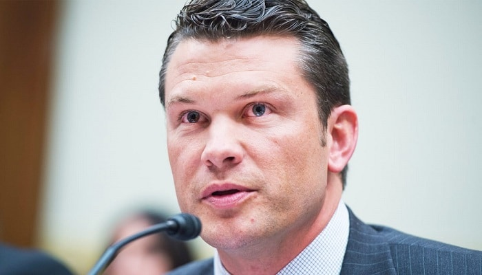 The picture of Pete Hegseth