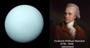 William Herschel discovered the planet Uranus