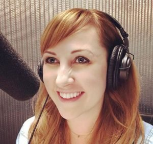 Kathy Searle loves to voiceover