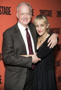 Reed Birney with his wife, Constance Shulman, Yahoo