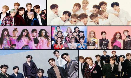 Top K-Pop group