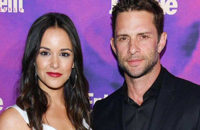 Melissa Fumero with her husband, David Fumero