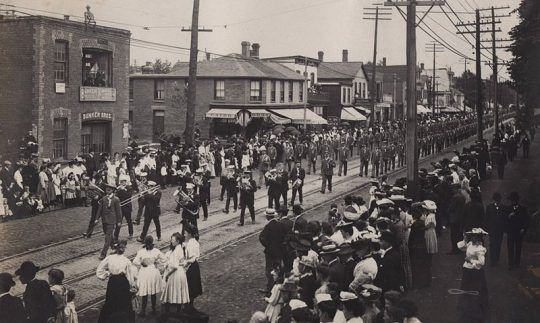 Labour Day parade of 1905