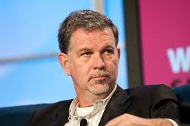 The CEO of Netflix, Reed Hastings