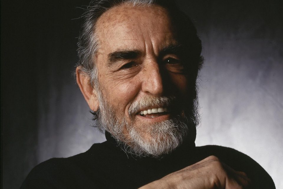 Vittorio Gassman in mid 90s, Pic. Getty Images