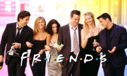 Friends lead cast, Pic. IMDb