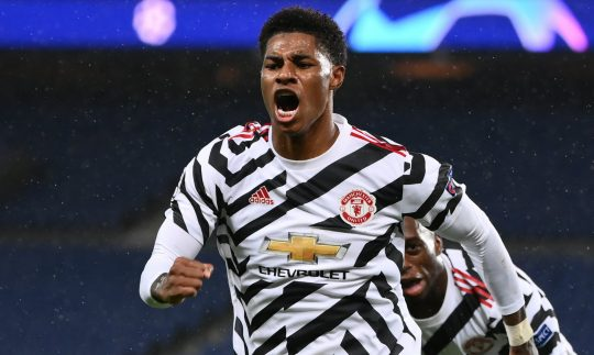 Marcus Rashford recalled glory in Paris after scoring the last minute goal against PSG! in Champions League