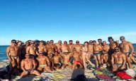 Gay men partying amid covid-19 restrictions