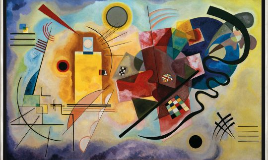 Play a Kandinsky lets you hear Yellow Red Blue