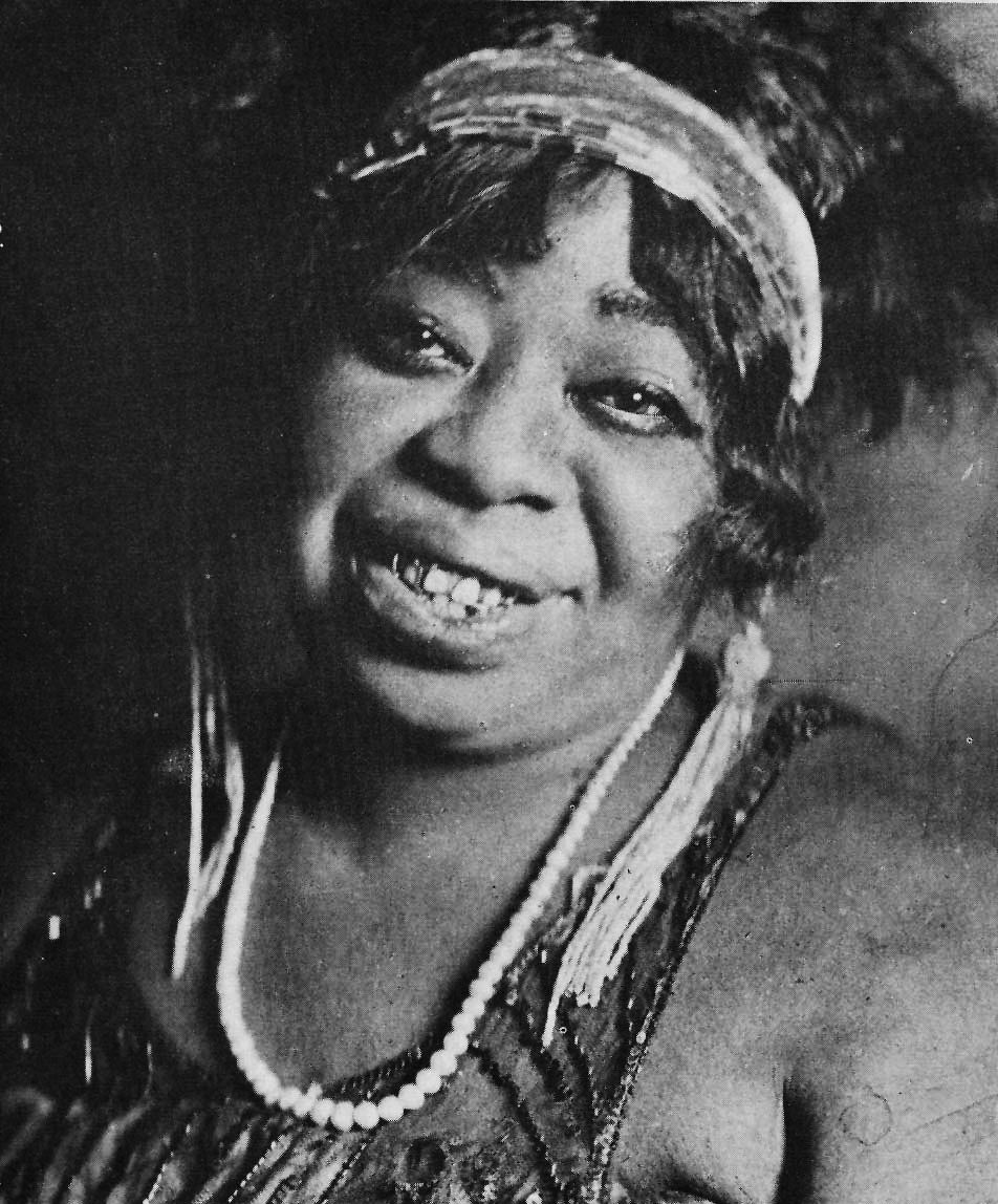 Ma Rainey was a prominent Queer Black American figure of her time