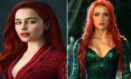 Is Emilia Clarke Replacing Amber Heard