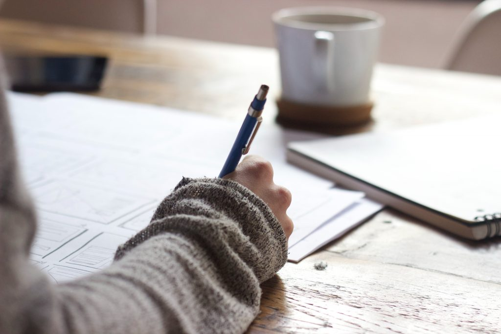 young people are increasingly into writing will