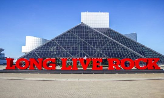 The Rock & Roll Hall of Fame Museum
