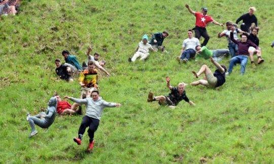 Cheese rolling game: The most stupid game ever?