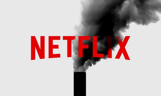The carbon footprint of the streaming giant, Netflix