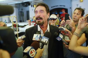 John McAfee: Early life, Career, Legal Issues, Death
