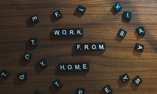 WFH is a concept in which an employee may work from home.